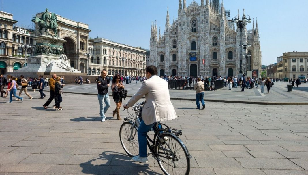 Biciclette a Milano foto da Virgilio Motori